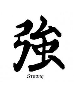 Kanji znak Strong -...