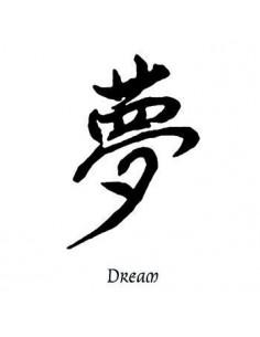 Kanji znak Dream -...