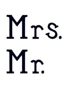 Mr. a Mrs. - svadobné...