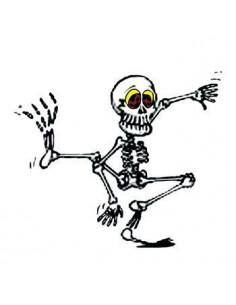 Tancujúci kostlivec...