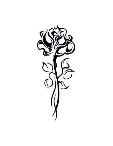 Ruža na dlhej stonke - tribal...