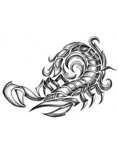 Škorpión - veľké tribal...