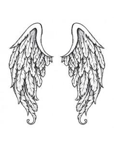 Anjelské krídla na chrbát -...