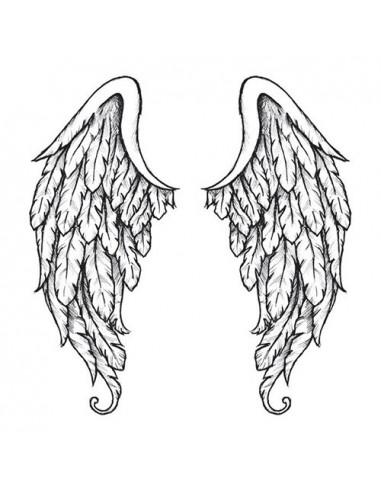 Anjelské krídla na chrbát - veľké...