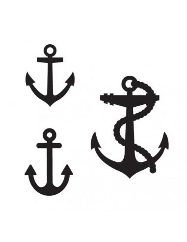 Tri kotvy - nalepovacie tetovanie