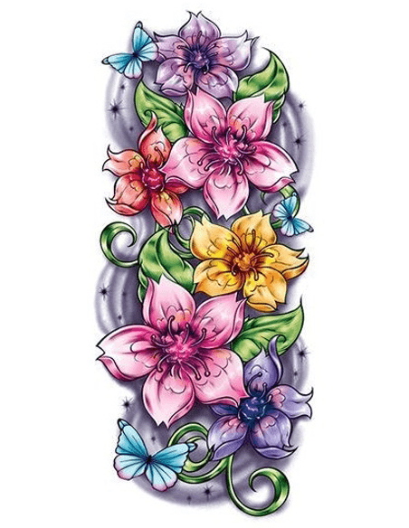 Kvetinové motívy